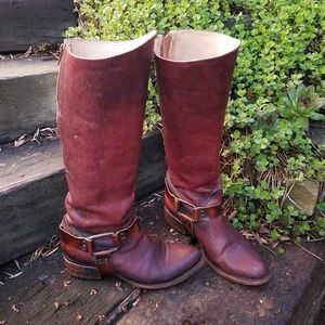 🥀FREEBIRD by STEVEN Phily Harness Boots SZ 8